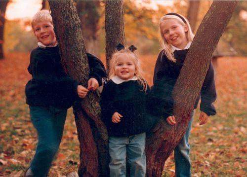 Kids in 95 at Morton's Arbiritum