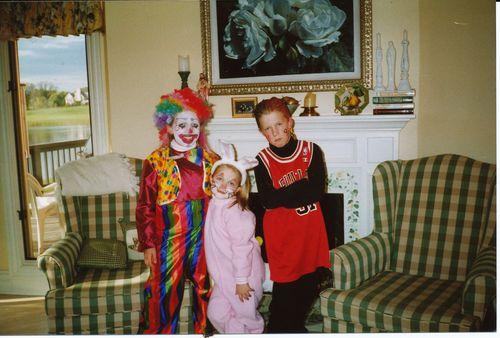 3 kids Halloween