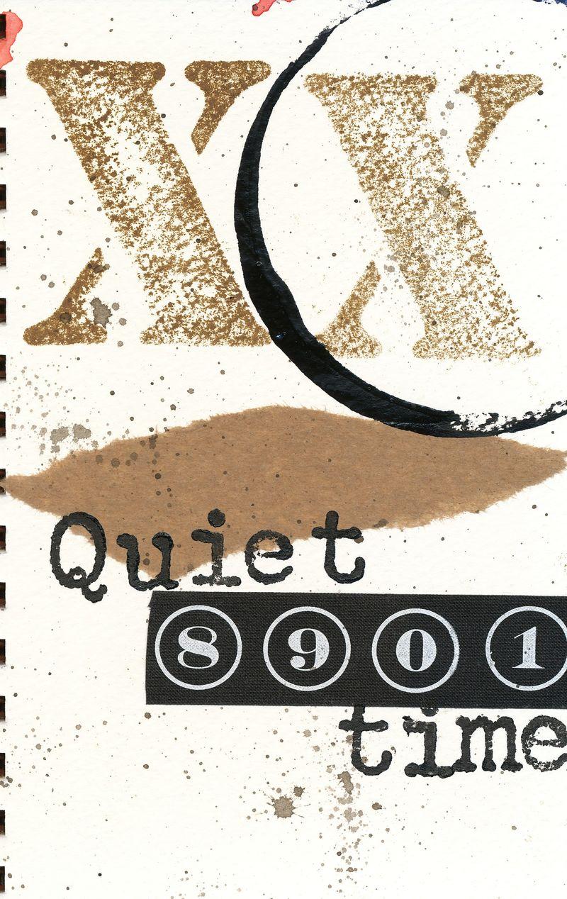 Quiet time j