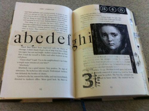 Altered book spread 4