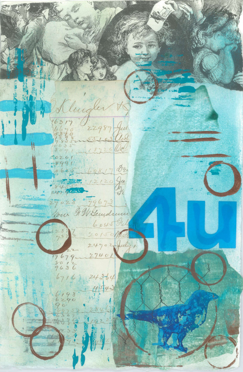 Aqua Alphabet #2